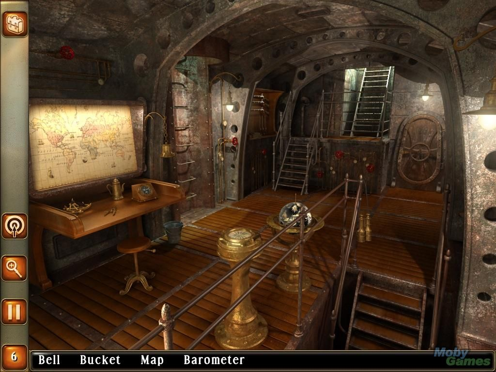 Welcome to the surreal steampunk apartment where jules verne meets tim - Leagues Under The Sea Captain Nemo Windows Ladders