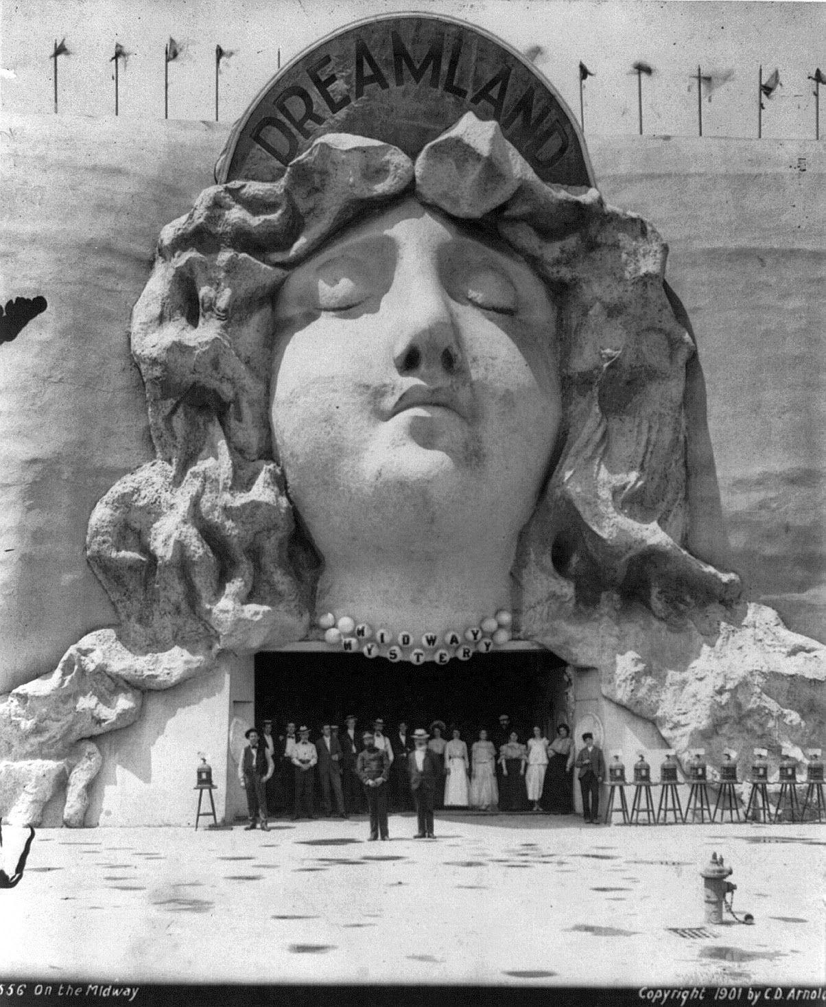 Dreamland Midland Mystery, Coney Island, 1901
