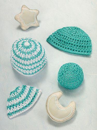bb3991775 Precious Preemie Hats pattern by Mary Beth Temple | Babies | Crochet ...