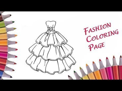 блестящее платье для принцессы учим цвета радуги видео