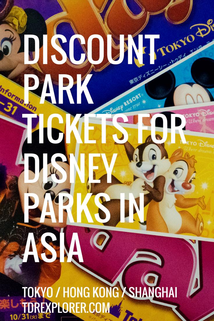 How To Buy Discount Tickets For Universal Disney Theme Parks Worldwide Disneyland Tickets Disney Discounts Hong Kong Disneyland