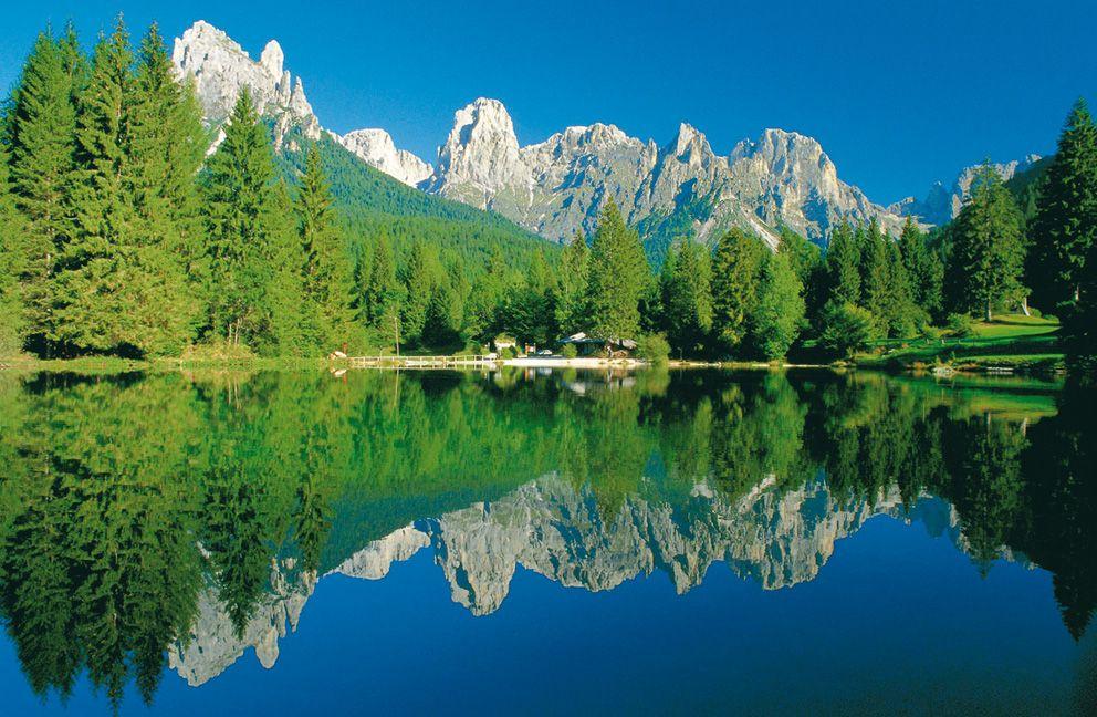 Tenda_camping_APT val di fassa Trekking, Montagne e Paesaggi