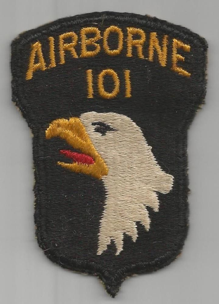 US ARMY 101 AIRBORNE PATCH /& CAP PATCH US ARMY PATCH BADGE