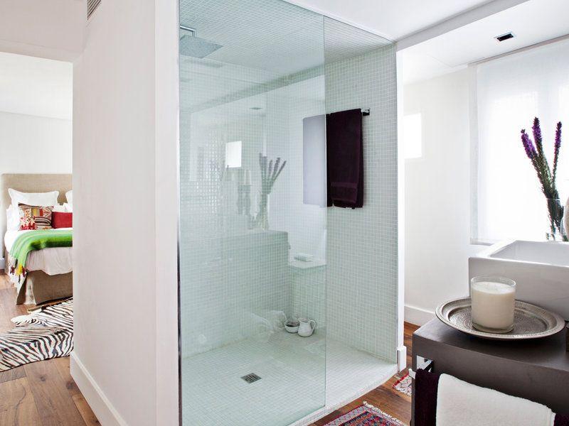 Las duchas de obra más singulares   Duchas, Singular y Diseños de ducha