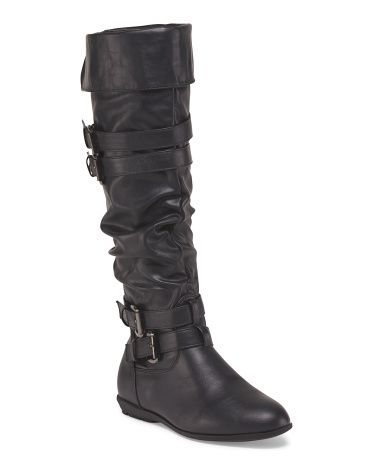 Sally Slouch Cuff Flat Boot
