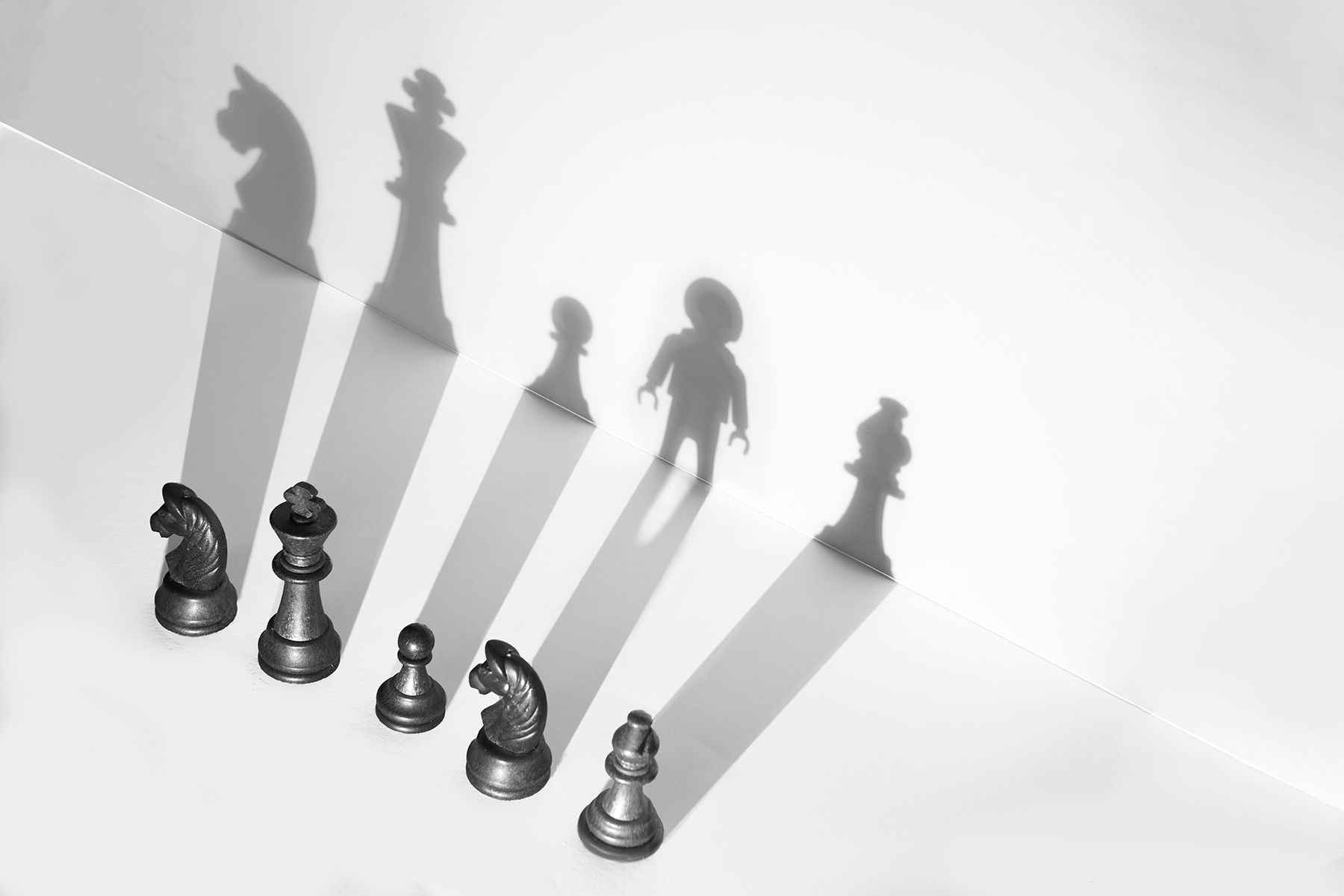 La sombra intrusiva