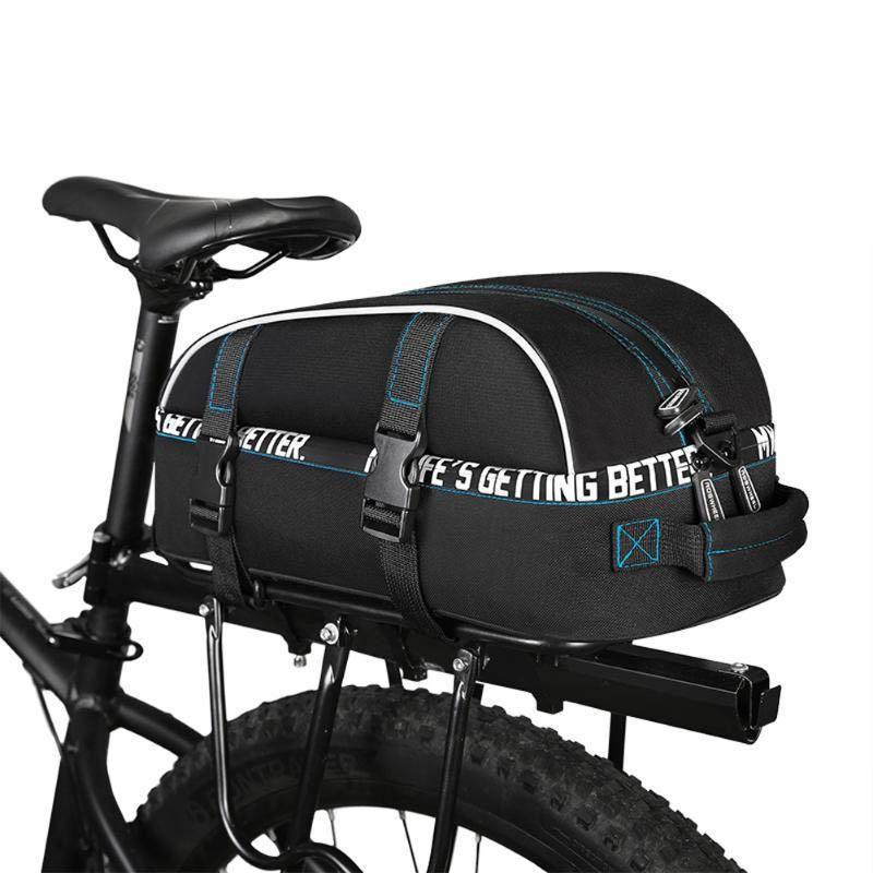 Roswheel 141416 Bike Trunk Bag Bicycle Tiered Waterproof Bag Multifunctional Shelf Bicycle Bag Bicycle Cycling Bag