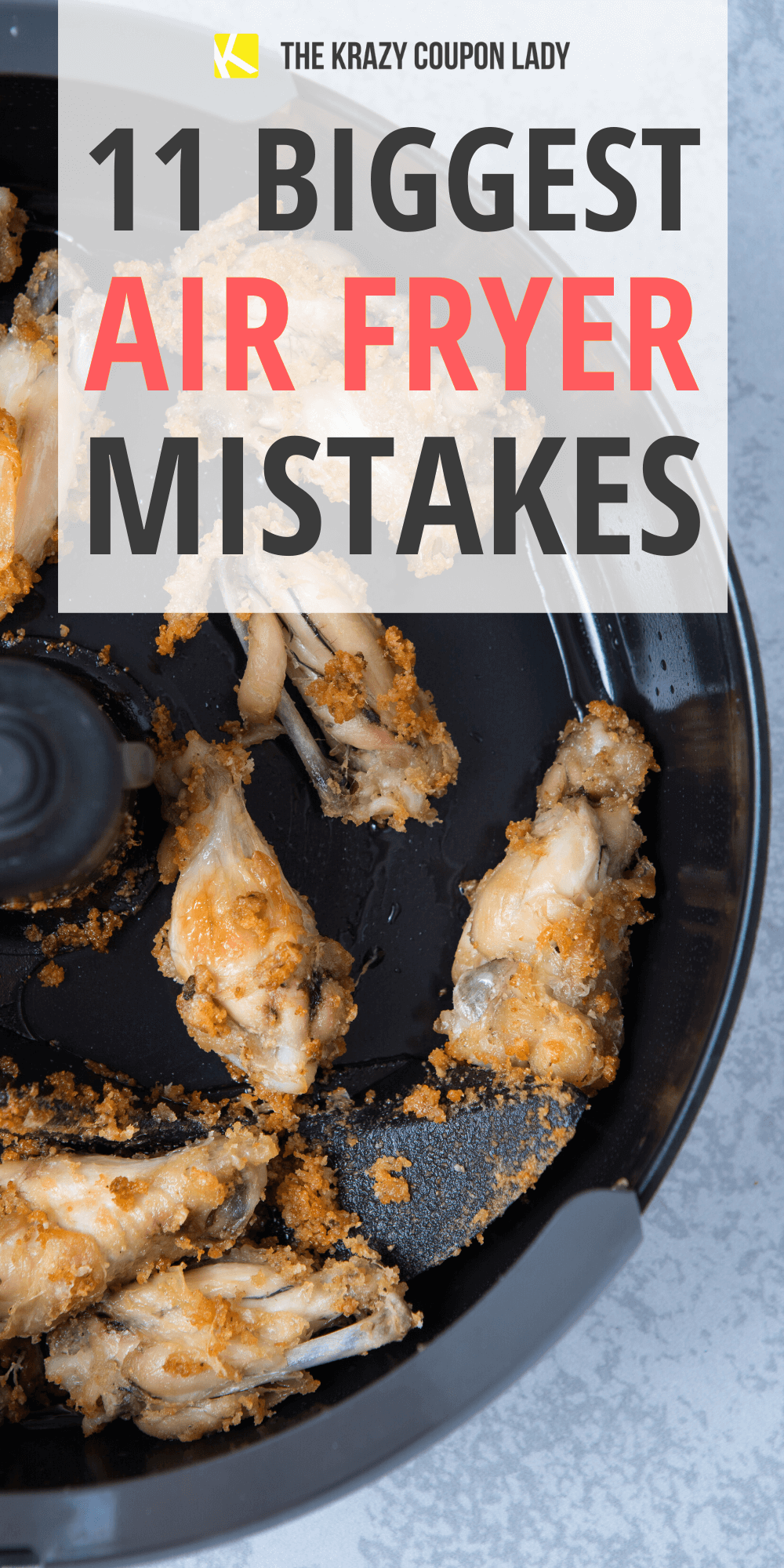 11 Biggest Air Fryer Mistakes to Avoid