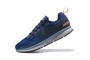 pretty nice ee513 425f6 Mens Nike Air Zoom Pegasus 34 FlyEase Binary Blue Obsidian Armory Blue  907327 400 Running Shoes