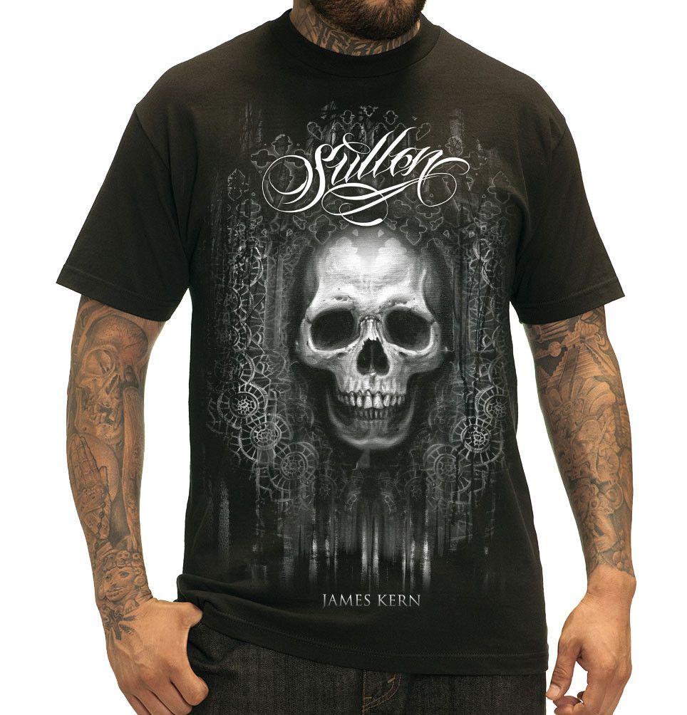 Sullen James Kern Skull Mens Tattoo Design Tshirt Tattoos For Guys Tshirt Designs Sullen