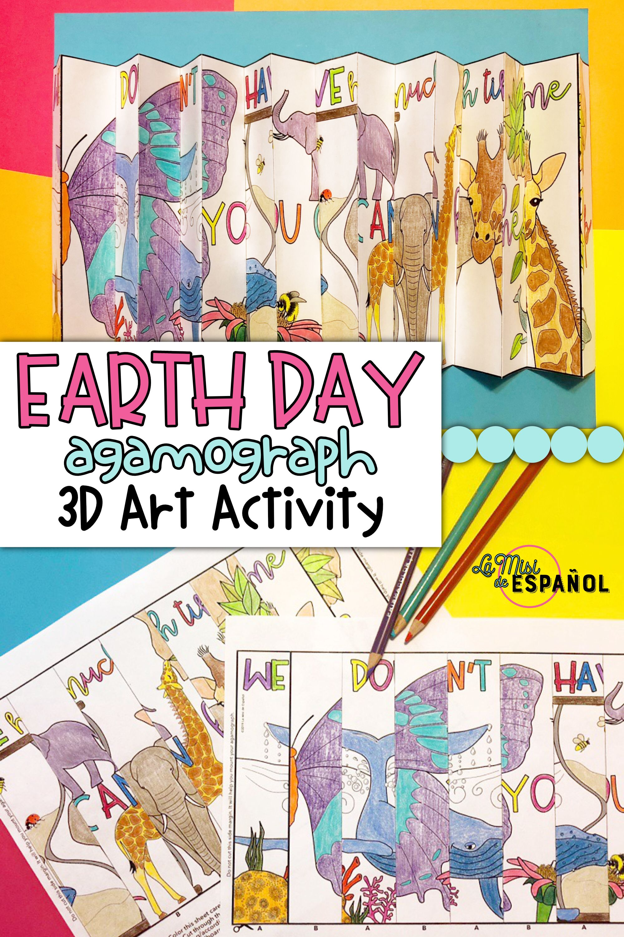 Agamograph Earth Day Activity