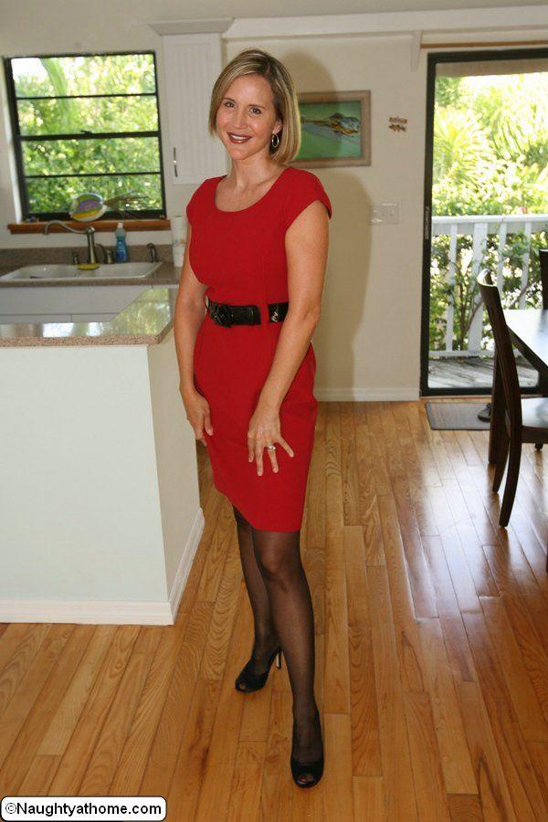 Desirae spencer in a red bikini fag