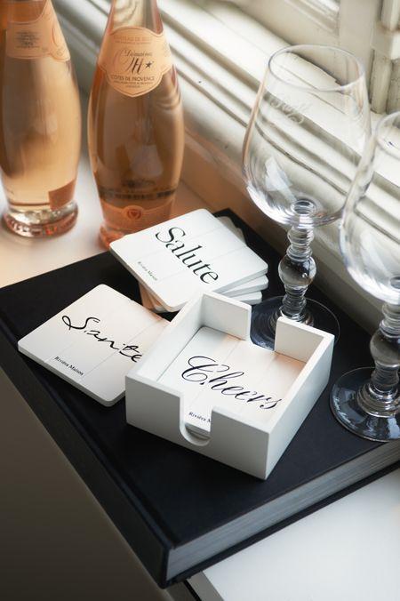 Rivièra Maison Webstore - accessoires | Keuken- & Eetgerei | Onderzetters | Santé Coasters 6pcs