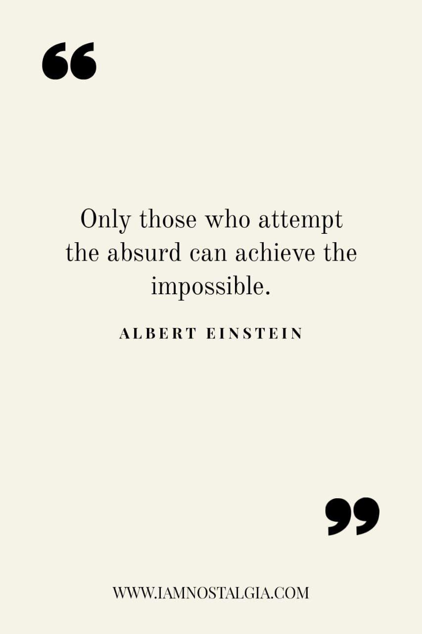 60 Deep and Inspirational Einstein Quotes — I am Nostalgia