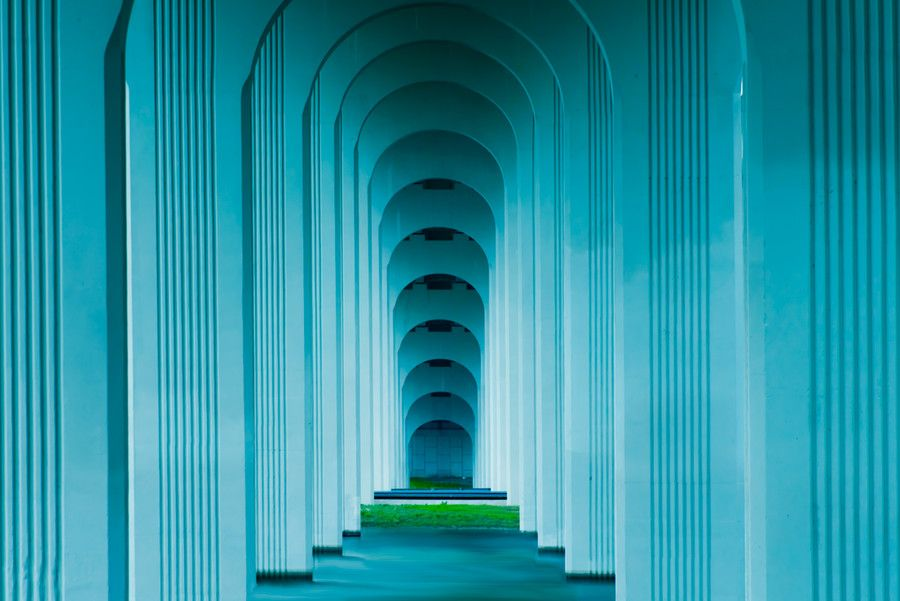 Photo Under the Blue Bridge by Greg Waters on 500px