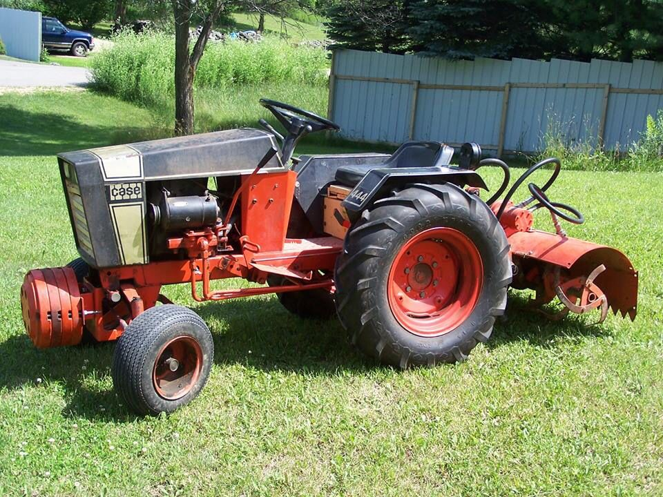 Case 446 With A Tiller With Images Home Vegetable Garden