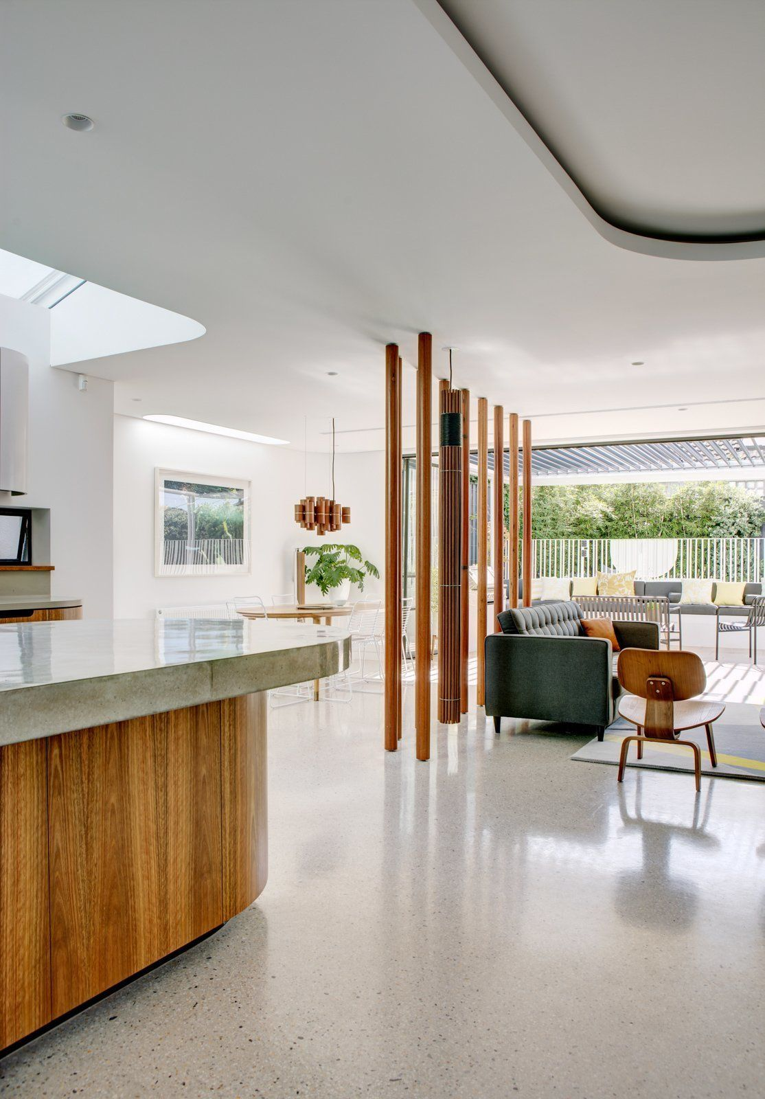 a heritage art deco house in australia gets a modern update
