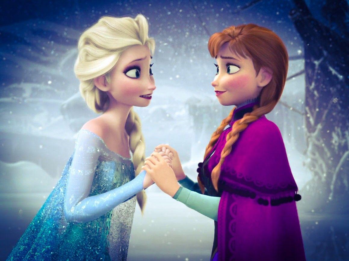Elsa And Anna Duas Irmas Irmaos Imagens