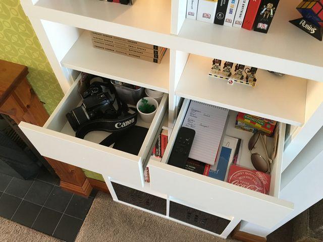 Kallax Drawer Conversion Ikea Hackers Cube Storage Shelves Cube Drawers Drawer Inserts