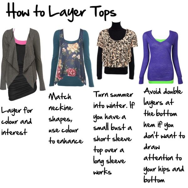 How to Layer Tops, created by imogenl on Polyvore
