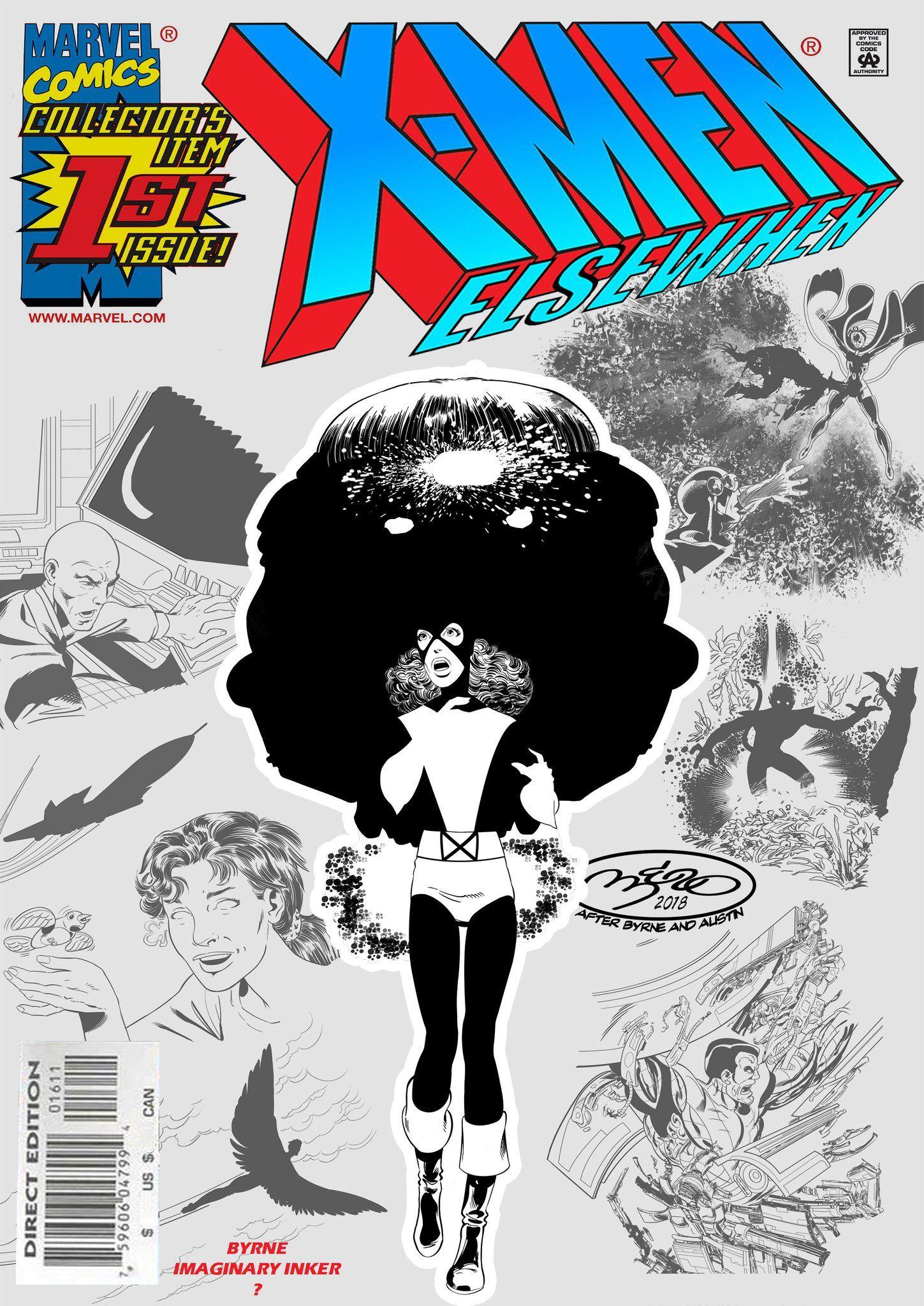 Laercio Lima X Men Marvel Girls Comic Book Cover