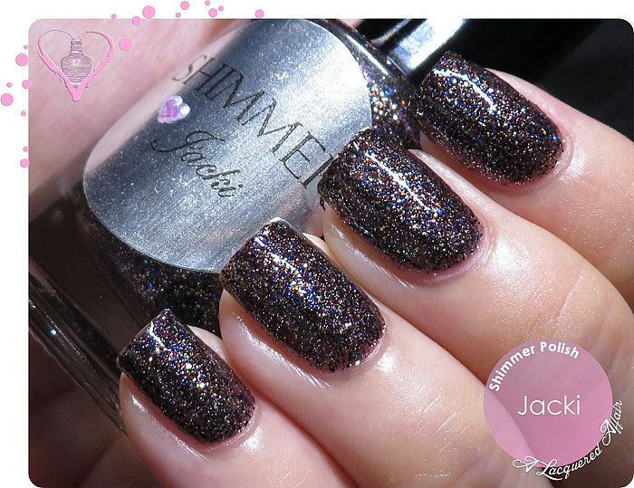 Shimmer Polish Jacki. Swatches and review on http://www.alacqueredaffair.com/Shimmer-Polish-Jacki-Astrid-31517338  2 February, 2014