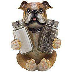 Bulldog Salt U0026 Pepper Shaker Set Dog Kitchen Decor Housewarming Gifts For  Dog Lovers