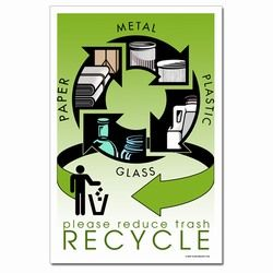 rp311 recycling poster recycling placard recycling sign recycling memo recycling post recycling image recycling message