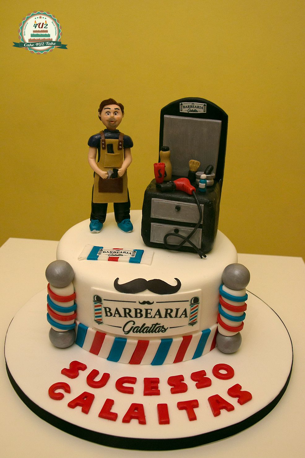 cake-4u2-take | Pastel de peluquero, Pastel de cumpleaños ...