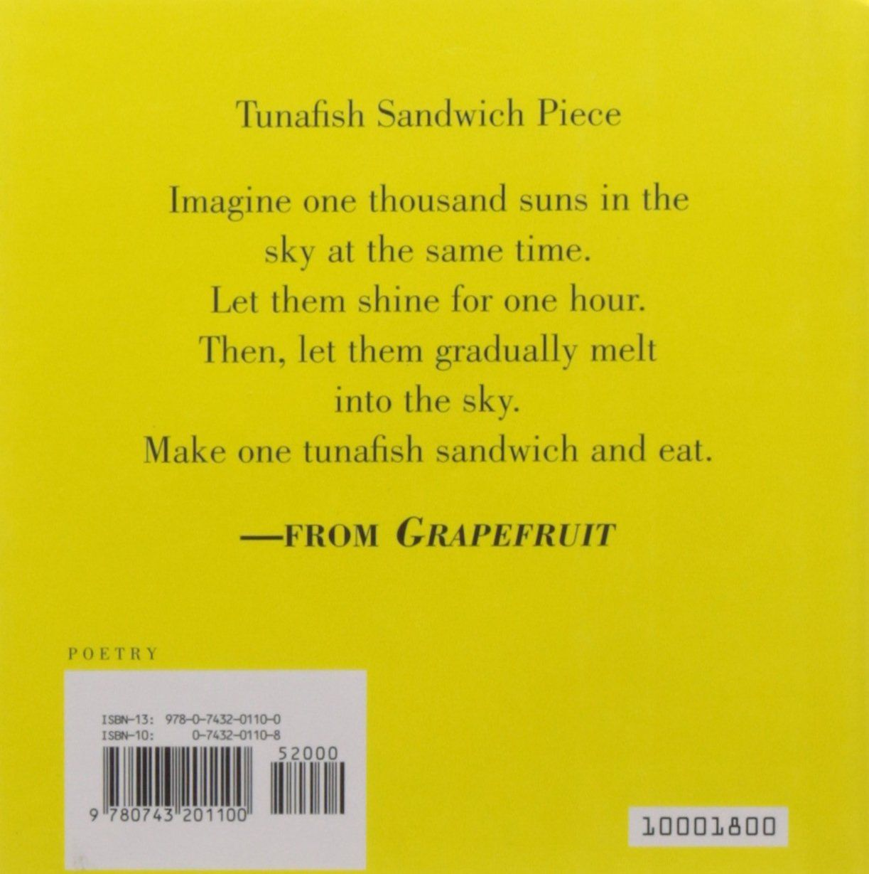 Grapefruit A Book Of Instructions And Drawings By Yoko Ono Instructions Book Grapefruit Ono Ad John Lennon Copertina Libri