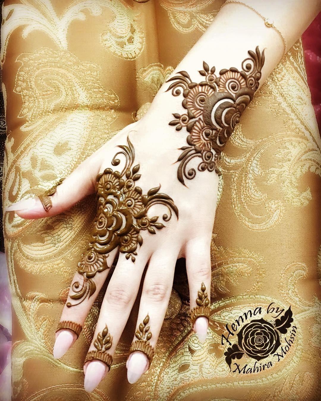 Zara Mehndi Designs For Hands
