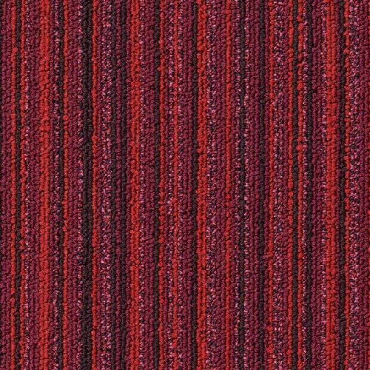 Interface Carpet Tiles Red