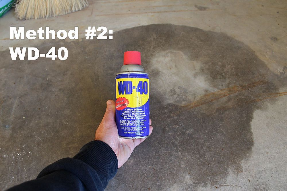 Discover How To Remove Oil Stains From Concrete Remove Oil Stains Cleaning Hacks Oil Stains