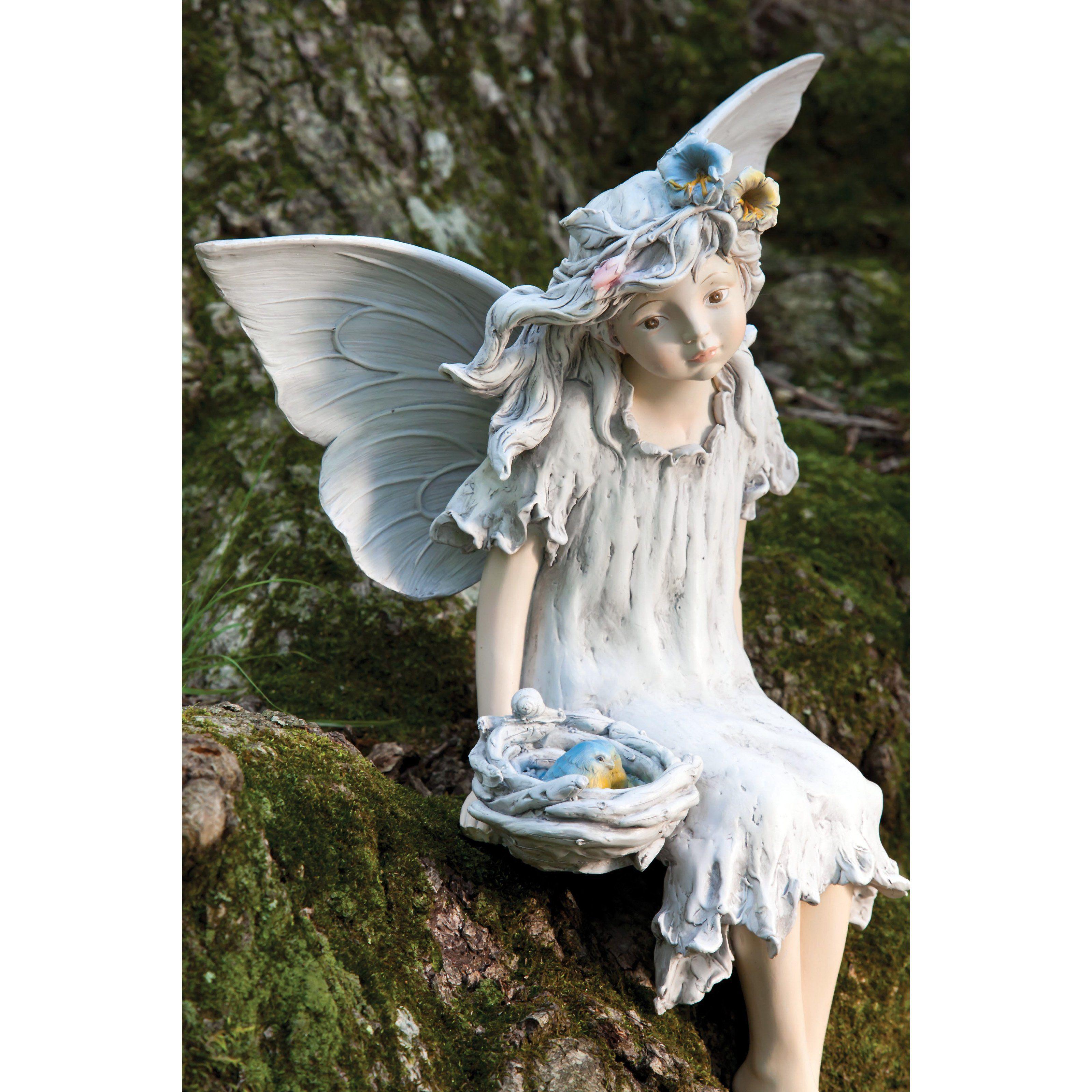 скульптура фея для сада своими руками фото боль
