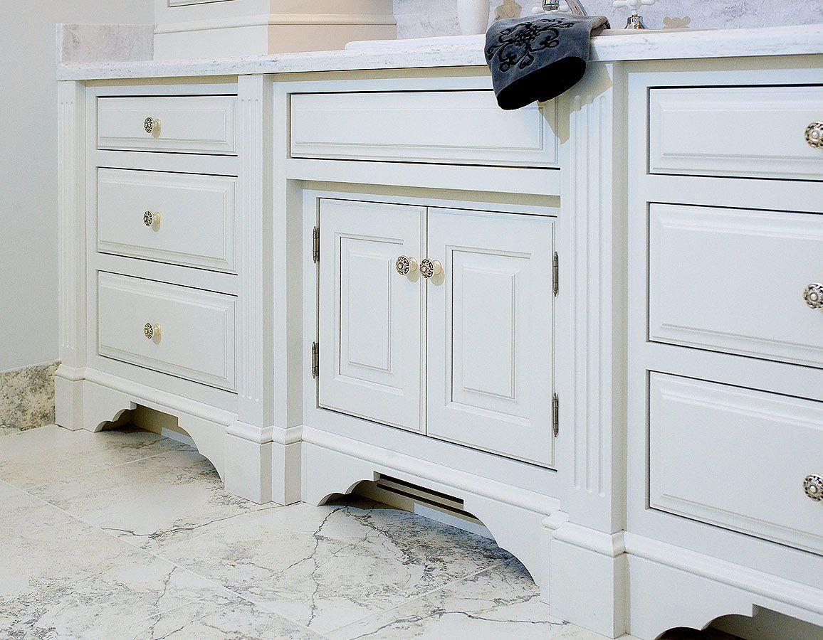 custom vanity cabinets by Mullet Cabinet in Millersburg, Ohio ...