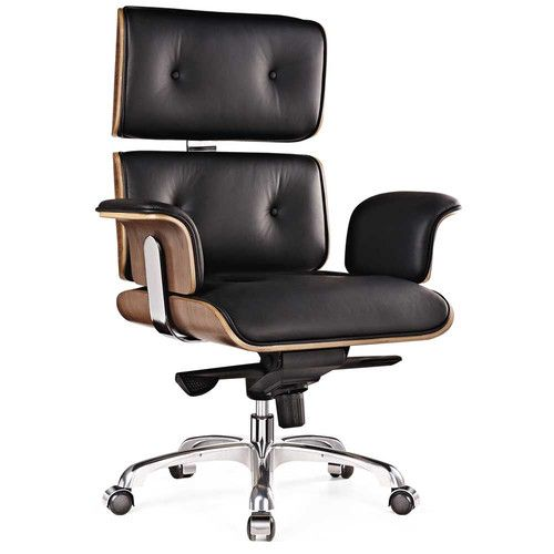 Remarkable Eames Premium Leather Replica Executive Office Chair Forskolin Free Trial Chair Design Images Forskolin Free Trialorg