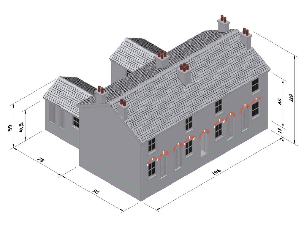 It's just an image of Genius Free Printable Model Railway Buildings