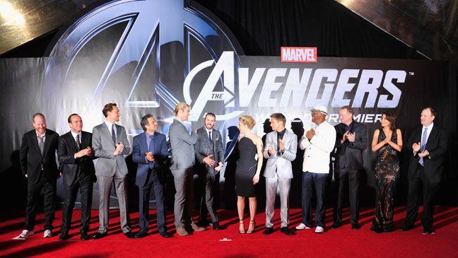 Avengers Premiere Red Carpet Arrivals Avengers Avengers Pictures Avengers Cast
