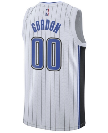 more photos 4d5bc f1bda Nike Men Aaron Gordon Orlando Magic Association Swingman ...