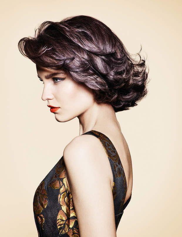 Coloration cheveux fins