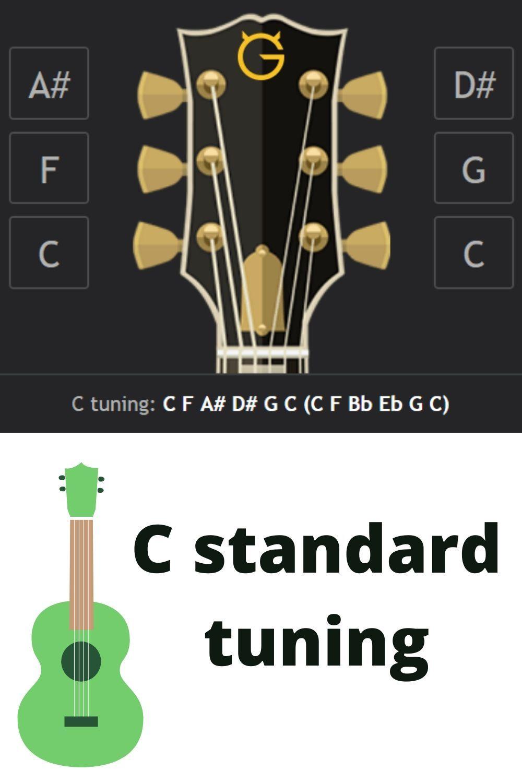 C Standard Tuning Guitar Tips Bass Guitar Guitar Store