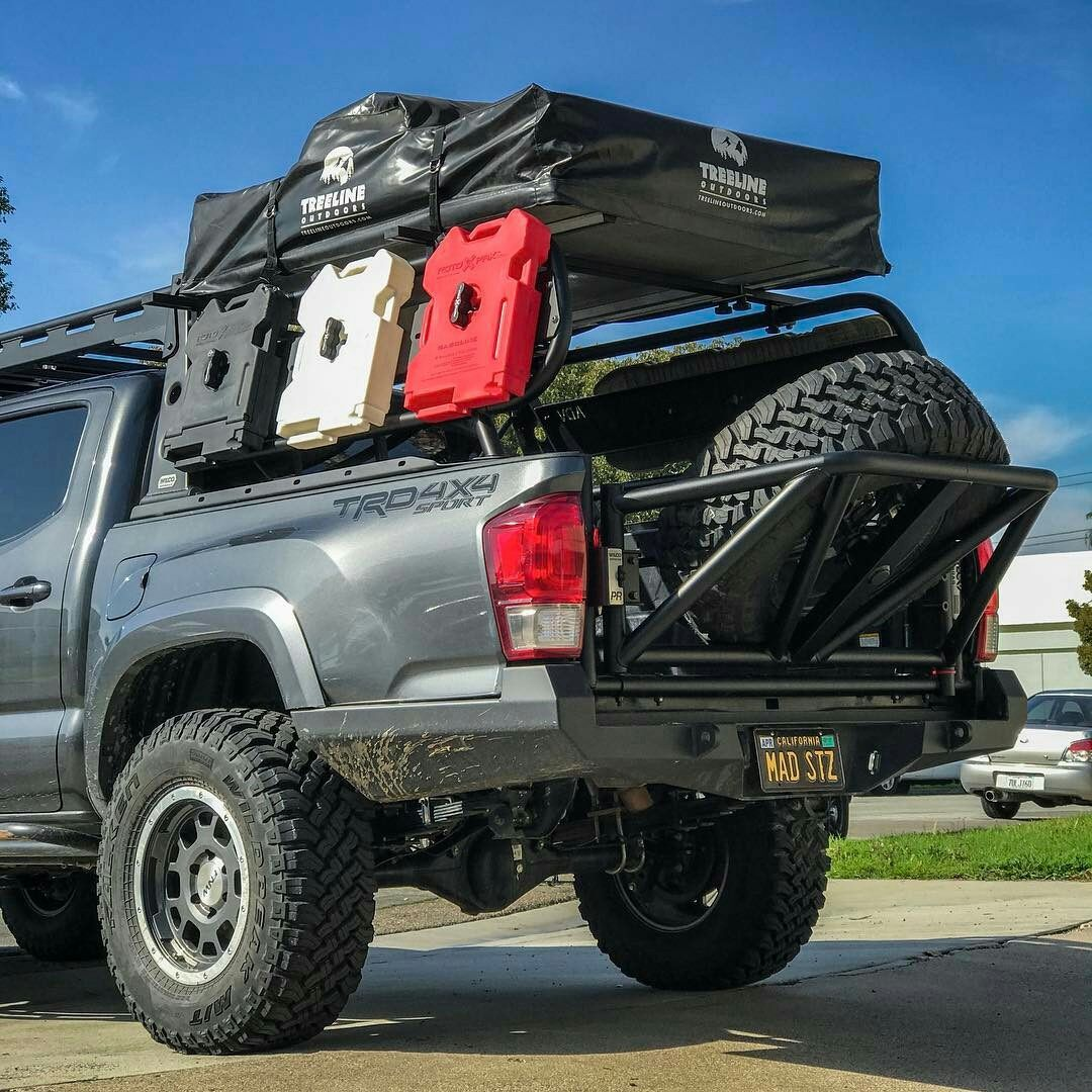 ADV Rack System Toyota bumper, Overland truck