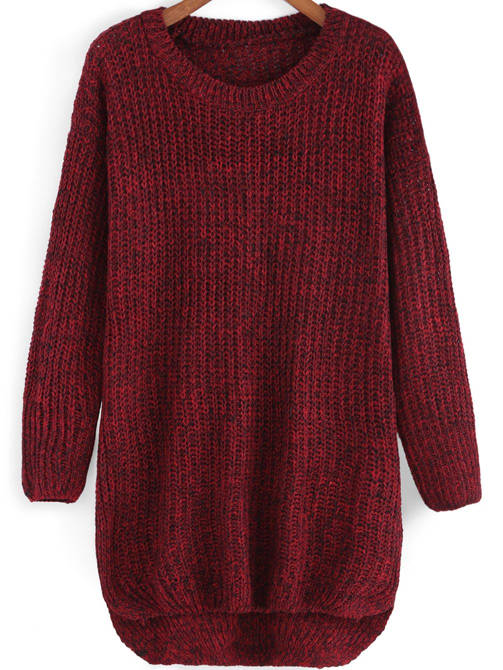 8d604247c32 No way to let me give the warm loose dip hem sweaters away ...
