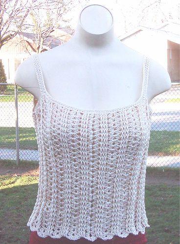 5e458f627c Sweetie Pie Camisole Free Crochet Pattern