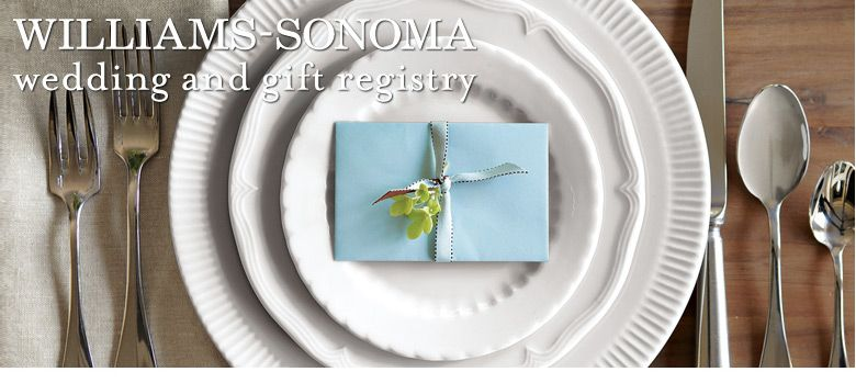 Williams Sonoma Wedding Registry.Williams Sonoma Gift Registry Represented At The Sedona