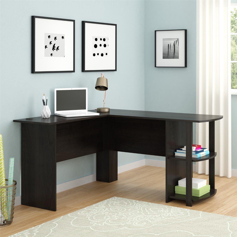 Corner L Shaped Computer Desk By Ryan Rove Kristen On Amazon Com