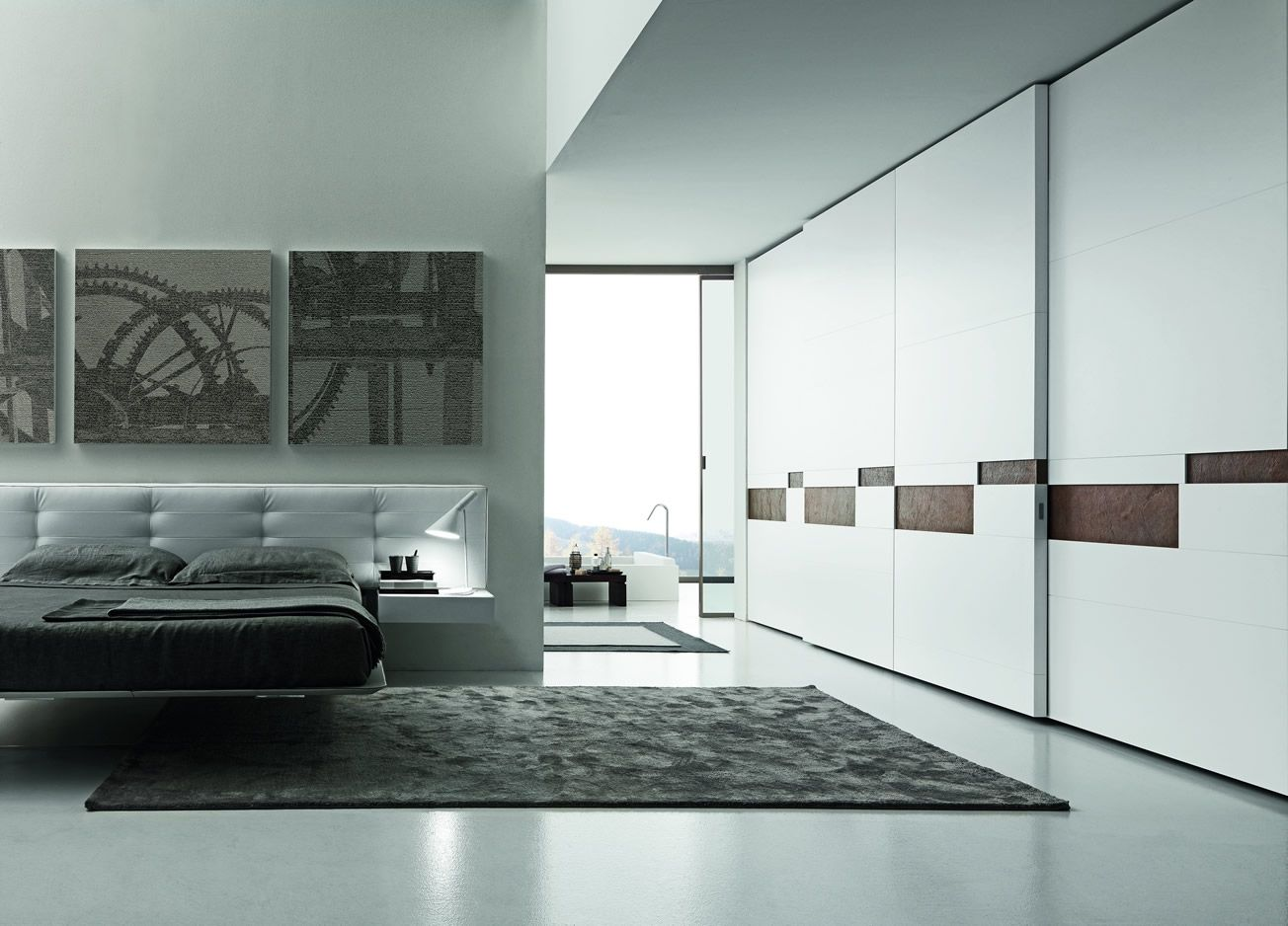 The Split Sliding Door By Presotto Has A Beautiful Feature Of