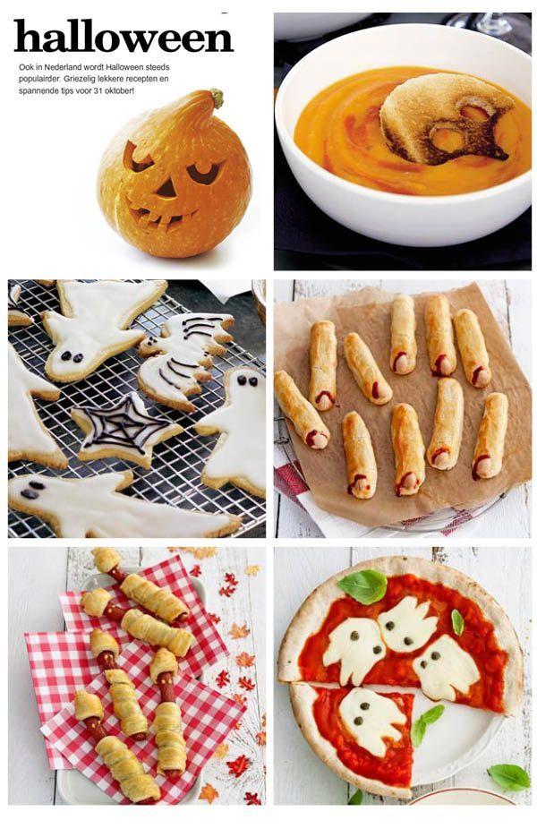 Halloween Eten Kinderen.Kinderrecepten Voor Halloween Koken Met Kinderen