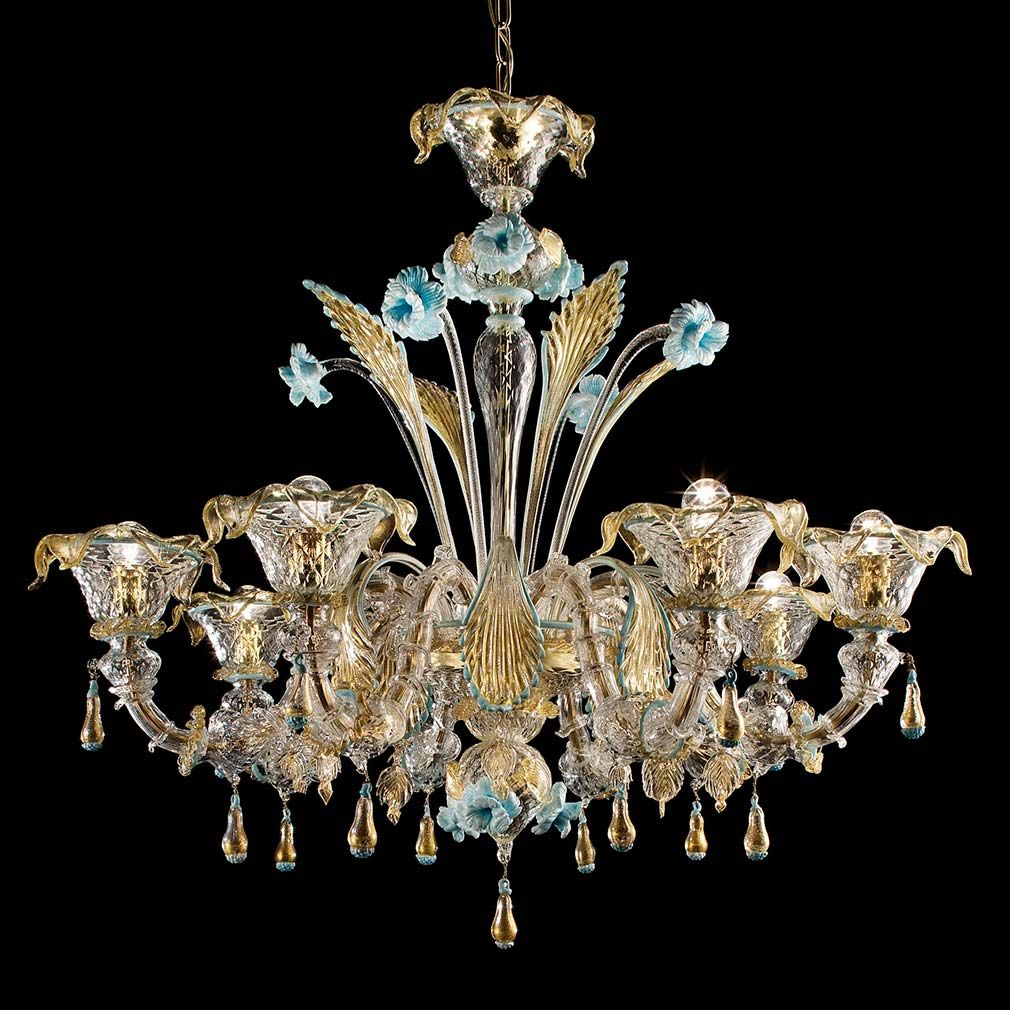 Colosseo murano glass chandelier murano glass chandeliers and glass colosseo murano glass chandelier aloadofball Gallery
