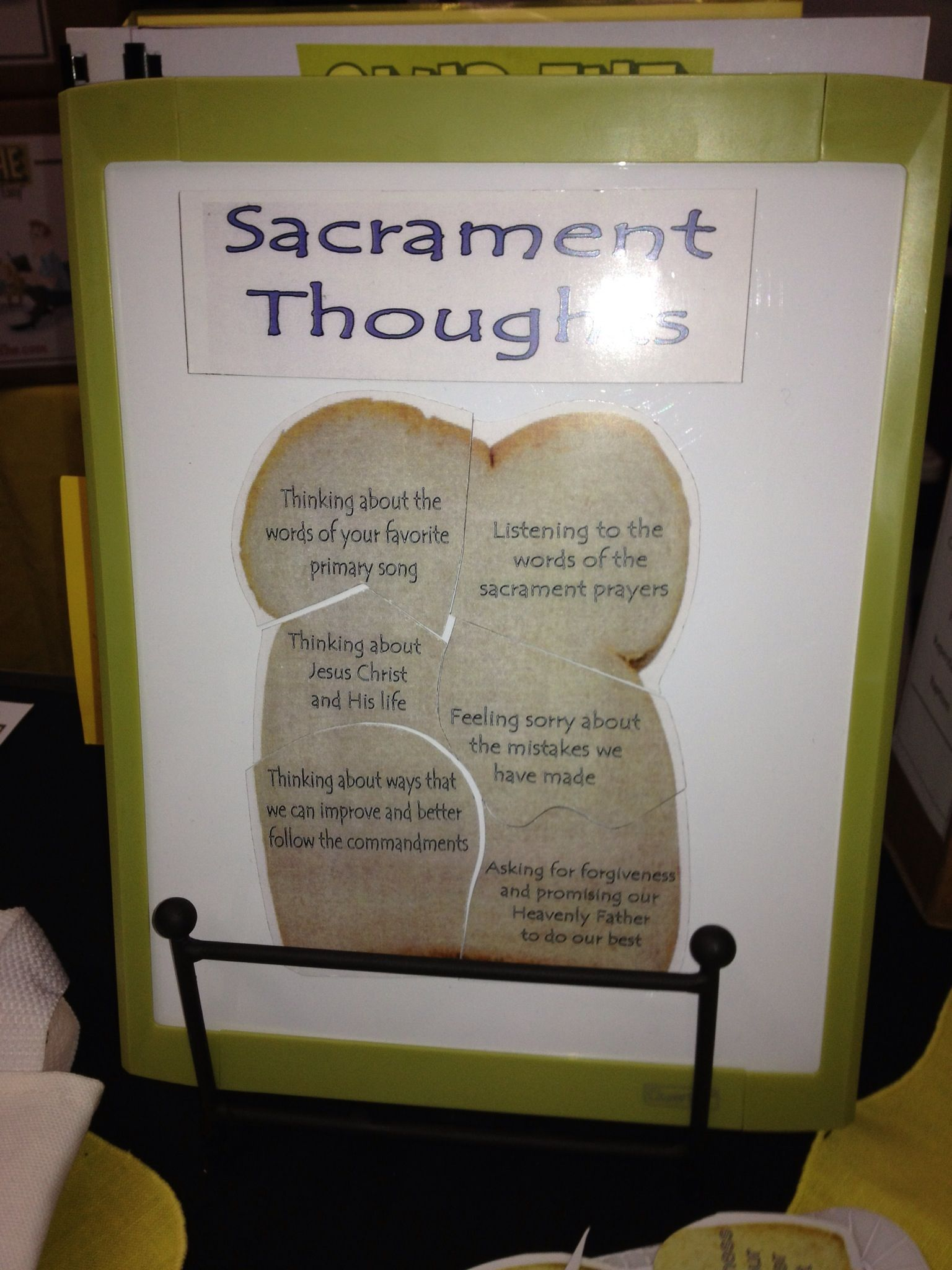Fhe Idea For Kids To Understand During The Sacrament